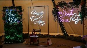 Custom Made Events, Wedding, Romantic LED Neon Signs UK