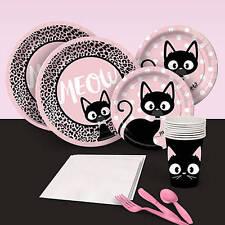 Purr-fect Pretty Kitty Cat Kitten Party Supplies Fun Photo Booth Props 10pk 25cm Celebrations & Occasions Other Celebrations & Occasions