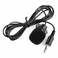 3.5mm Clip on Lapel Microphone for PC Laptop AD