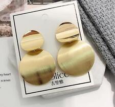 Fashion Metal Geometric Big Square Earrings Dangle Drop Long Earrings For Women