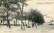 France La Valbonne - Camp - Batiments du 6e Colonial old postcard