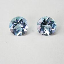 1.56ct!! AQUAMARINE MATCHED PAIR NATURAL EXPERTLY FACETED +APPRAISAL AVAILABLE