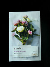 1 SHEET BEYOND HERB GARDEN PEONY MASK PACK - BRIGHT & GLOW