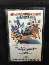SLY & THE FAMILY STONE GREATEST HITS CASSETTE