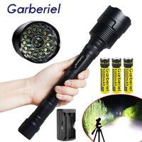 Garberiel Tactical 90000LM 14x T6 LED 18650 Super Bright Flashlight Torch Light