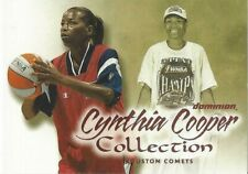 2000 WNBA FLEER DOMINION * CYNTHIA COOPER COLLECTION * CARD #8 PLAYER OF CENTURY