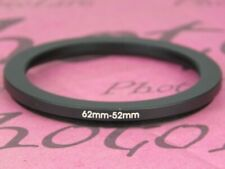 62mm to 52mm 62mm-52mm Stepping Step Down Filter Ring Adapter