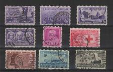 U.S.A. États-Unis 1948 9 timbres oblitérés  /T2032