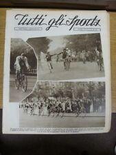26/08/1934 tutti gli Sports giornale: NAPOLI, VOL 11 N. 35 è dotato di azione PICT