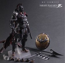 Play Arts Kai Justice League Batman Variant Spartan Warriors Collection Toy Gift