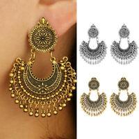 Vintage Indian Jhumka Gypsy Jewelry Boho Ethnic Women Drop Dangle Earrings Gift