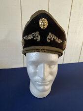 Vintage Odd Fellows fraternal Regalia Helmet. Pickelhaube spike Outer Guard