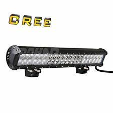 21inch CREE 126W Led Work Light Bar Spot Flood Combo For Adjustable Driving Bull