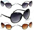 New DG Retro Vintage Large Oversized Womens Designer Sunglasses FASHION SHADES