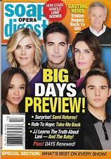 Soap Opera Digest Magazine - March 26, 2018 - Days of Our Lives Bryan R. Dattilo