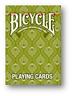 Peacock Verde Puente - Bicycle Póquer Juego de Cartas