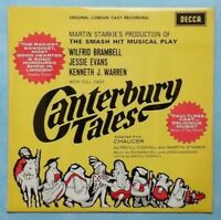 CANTERBURY TALES (ORIGINAL LONDON CAST)~1968 UK 16-TRACK STEREO VINYL LP RECORD
