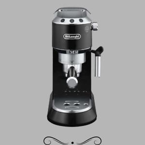 Delonghi EC680BK Dedica 15 Bar Pump Espresso Latte Cappuccino Maker, Black