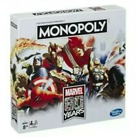 Monopoly Marvel 80 Years 80th Anniversary Edition Board Game Alex Ross Sealed