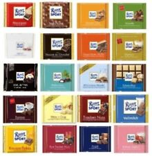 RITTER SPORT Chocolate Collection - six (6) bars of your choice -