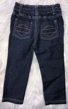 Harley-Davidson Girls 18 Months Jeans with Elastic Waist and Embroidered Pockets