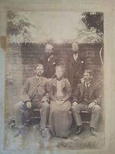VICTORIAN PHOTOGRAPH JUNE 10TH 1897 SILVER JUBILEE SIR JOHN KIRK - KEGWORTH