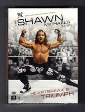 WWE - The Shawn Michaels Story: Heartbreak and Triumph (DVD, 2007, 3-Disc Set
