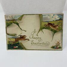 Vintage Easter Postcard A Happy Eastertide Greensburg Pennsylvania