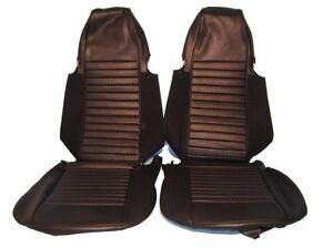 New Black Vinyl Seat Cover Upholstery Kit for Triumph TR6 1970-1972 UK Made