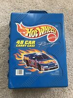 Mattel Hot Wheels 48 Car Carry Case Style No. 20020 Good Used Cond. Vintage 1998