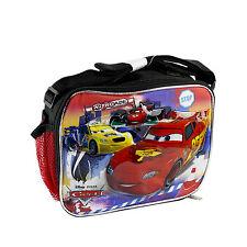 """Disney Nitroade Cartoon Car Kids School Lunch Box Licensed NEW 9""""x7""""x3"""""""