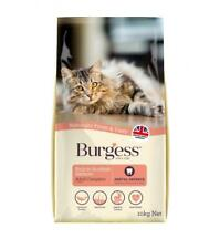 Burgess 1.5kg Complete Cat Food Kitten/Adult Chicken & Duck/Adult Salmon