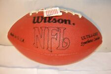 Wilson F1655 Ultra Grip Synthetic Leather Football w Unidentified Autographs Usa