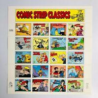 Scott #3000 32¢ Comic Strip Classics Stamp Sheet of 20
