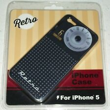Retro Cell Phone iPhone 5 case cover transistor radio stocking stuffer Xmas dial