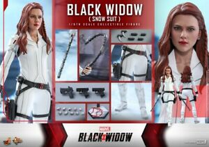 Hot Toys 1/6 scale Black Widow (Snow Suit Version) Collectible MMS601