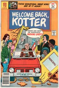 Welcome Back, Kotter DC comic book #2 Jan 1977  Near Mint