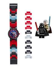 NEW SEALED LEGO SET 9001222 Darth Vader vs Obi Wan Minifigure Watch Light Saber