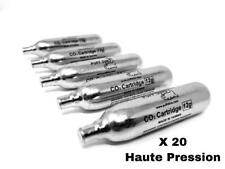 20 X Co2 PUFF DINO CO2 Cartouches Co2 Airsoft 12g Première Marque Vérins Haute