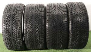 4 Gomme Porsche Macan Michelin 265 40 21 / 295 35 21 DOT 3817 invernali 75%