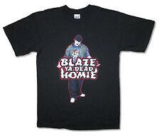 BLAZE YA DEAD HOMIE! RED OUTLINE PIC BLK T-SHIRT M NEW