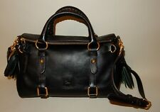 Dooney & Bourke Florentine Leather Mini Satchel Bag Black