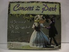 Concert In The Park Festival Of Beautiful Music Import 2 CD's Madacy 1996 cd657