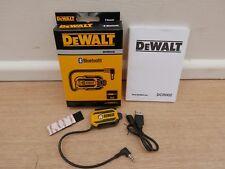 BRAND NEW DEWALT DCR002 USB BLUETOOTH RADIO ADAPTOR
