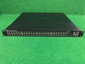 DELL POWERCONNECT 5548P SWITCH 48x10/100/1000 PORTS 2x10-GIGABIT SFP+ PORTS