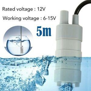 Tauchpumpe DC 12V Pumpe 12 Volt Wasserpumpe Wohnwagen Camping Garten 10-20L/min