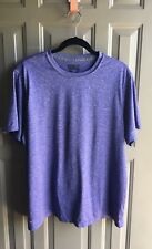 Training Fit Performans Mens Shirt Tee Color Purpel Size XL