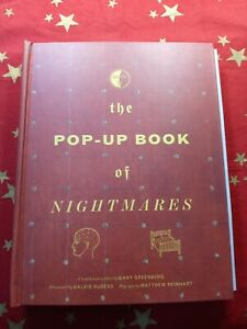 The Pop-Up Book of Nightmares by Gary Greenberg 1st Edition (Very Good!)