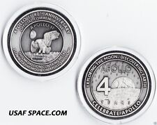 Apollo 11 - Flown to The Moon 40th Anniversary Medallion Contains Flown Metal