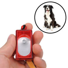 Updated Dog Pet Click Clicker Training Obedience Agility Trainer Aid Wrist Strap